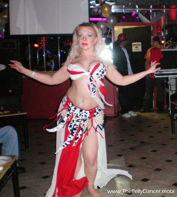 Belly dancer Angela from New Jersey