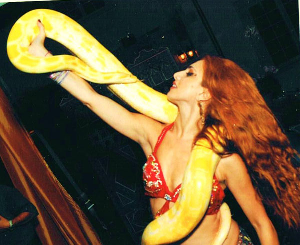 NYC Snake Dancer Anna