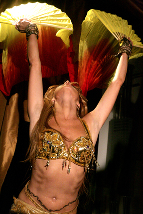 Belly dancer Anna from New York City