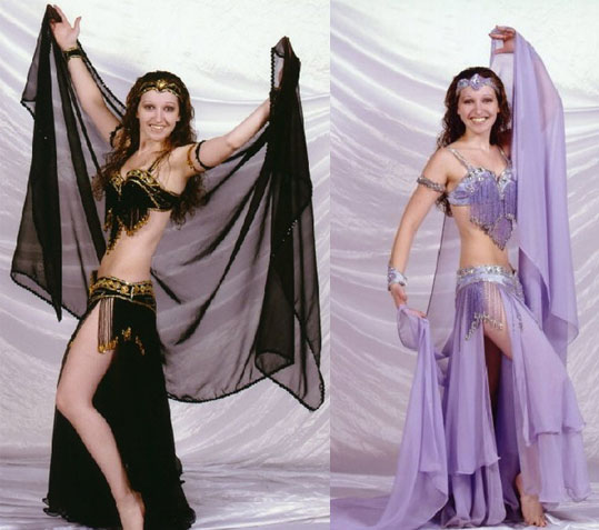 Belly dancer Donna