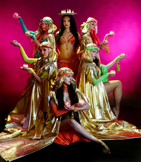 "New York Belly Dance show ""LaUra and Belly Trance"""
