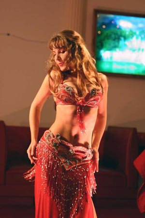 Belly dancer Maria from San Francisco
