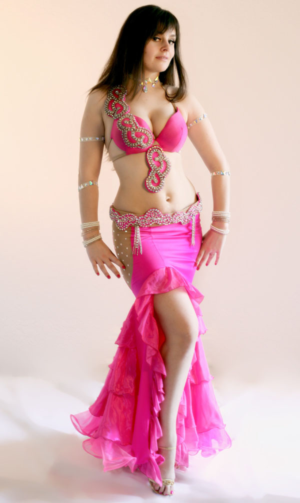 Brooklyn belly dancer Myriam