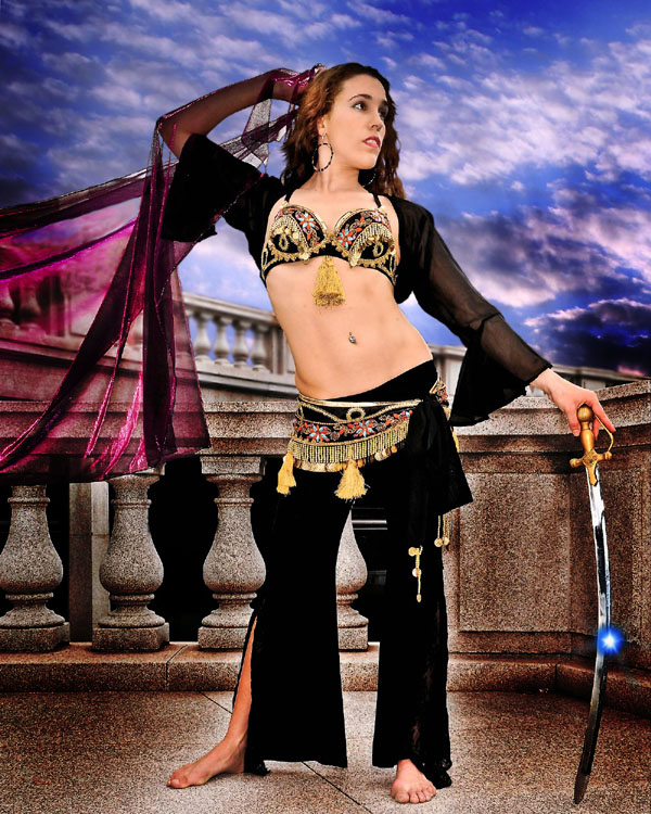 Belly dancer Ziva